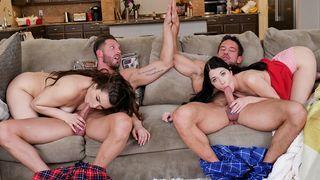 gruppensex mit geilen pornos