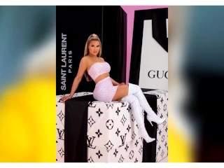 Shirin David Porno Wichsvorlage mit geilen sexy Porno Nacktbilder