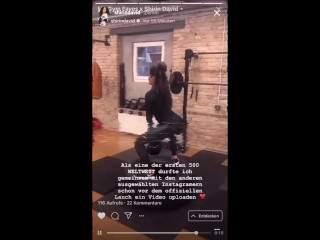 Shirin David zeigt ihren geilen Arsch und Titten bei Instagram Live